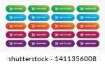 ecommerce shop buttons modern... | Shutterstock .eps vector #1411356008