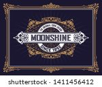 antique vintage design for... | Shutterstock .eps vector #1411456412
