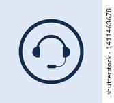 headset icon. new trendy...