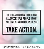 motivational quotes for happy... | Shutterstock . vector #1411463792