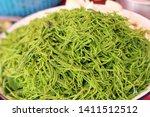 acacia pennata at street food   Shutterstock . vector #1411512512