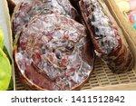 ripe tamarind at street food   Shutterstock . vector #1411512842