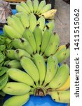 banana is delicious at street...   Shutterstock . vector #1411515062