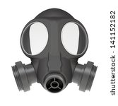 Gas Mask. Isolated Render On A...