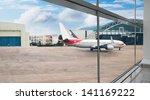 airplane | Shutterstock . vector #141169222
