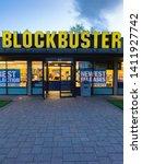 last blockbuster video store.... | Shutterstock . vector #1411927742