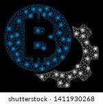 bright mesh bitcoin options... | Shutterstock .eps vector #1411930268