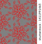 seamless pattern in the form of ... | Shutterstock .eps vector #1411991465
