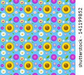 Floral Seamless Pattern Made Of ...