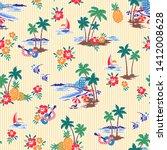 i made hawaiian shore scenery a ...   Shutterstock .eps vector #1412008628