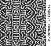 vector african pattern ... | Shutterstock .eps vector #141205162