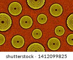 african fashion seamless... | Shutterstock .eps vector #1412099825