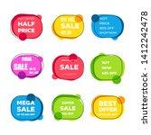 modern super sale concept ... | Shutterstock .eps vector #1412242478