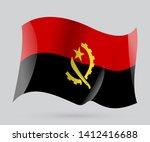 flag of angola luanda  vector... | Shutterstock .eps vector #1412416688