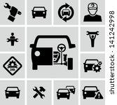 car repair   Shutterstock .eps vector #141242998
