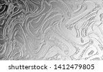 black and white relief convex... | Shutterstock . vector #1412479805