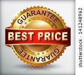 best price label.  vector eps... | Shutterstock .eps vector #141248962
