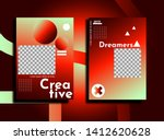 creative background layout for... | Shutterstock .eps vector #1412620628