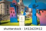 madrid   spain   05 31 2019 ... | Shutterstock . vector #1412623412