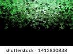dark green vector texture in...   Shutterstock .eps vector #1412830838