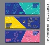 template sport layout design ... | Shutterstock .eps vector #1412963585