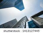 The skyscraper is in chongqing, China - stock photo