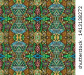 african repeat pattern....   Shutterstock . vector #1413138272