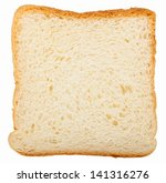 Toast Bread Slice Isolated On...