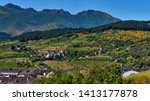 spring view of otero and... | Shutterstock . vector #1413177878