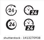 opening hours for the grocery... | Shutterstock .eps vector #1413270938