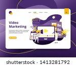 landing page video marketing...