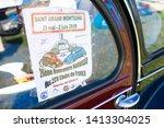 saint amand montrond   france ... | Shutterstock . vector #1413304025