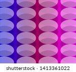 simple semi transparent circle... | Shutterstock .eps vector #1413361022