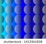 simple semi transparent oval... | Shutterstock .eps vector #1413361838