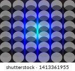 simple semi transparent circle... | Shutterstock .eps vector #1413361955