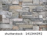 stone and brick pattern for... | Shutterstock . vector #141344392