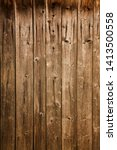 old wooden weathered planks... | Shutterstock . vector #1413500558