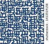 stripe texture pattern. indigo...   Shutterstock .eps vector #1413519158