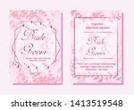 wedding invitation card ... | Shutterstock .eps vector #1413519548