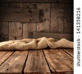 wooden table | Shutterstock . vector #141358216