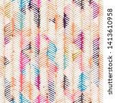 template seamless abstract... | Shutterstock .eps vector #1413610958
