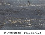 dark wood texture background... | Shutterstock . vector #1413687125