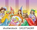 Children's Fairy Tales Sleeping ...