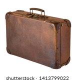 Old Shabby Vintage Suitcase...