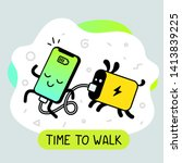 vector creative cartoon... | Shutterstock .eps vector #1413839225