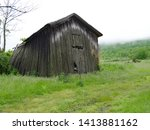Rural Shed Or Barn That Is...