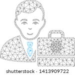 mesh cardano accounter... | Shutterstock .eps vector #1413909722