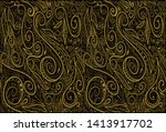 elegant floral pattern in...   Shutterstock .eps vector #1413917702
