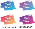 best price color promo... | Shutterstock .eps vector #1413984905