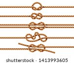 Set Of Isolated Ropes With...